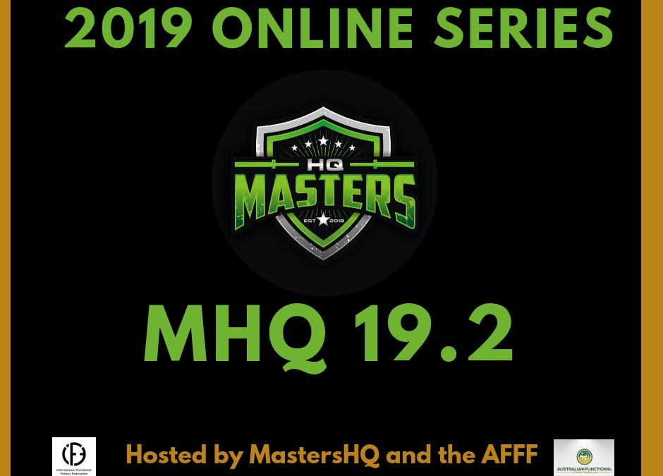 MASTERSHQ ONLINE QUALIFIER – MHQ 19.2